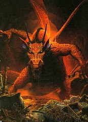 Red_Dragon (Count_Strad) Tags: game art artwork dragons adventure cover add rpg dd module dungeons tsr