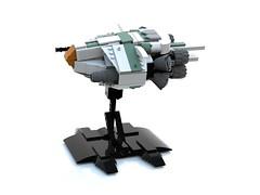 WhiteGhost 2.0 (tsower) Tags: lego space spaceship moc ldd whiteghost bluerender