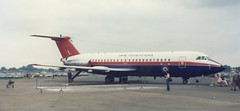 ZE432 BAC 1-11 ETPS at Fairford 1989 (kitmasterbloke) Tags: outdoor aircraft 111 airliner bac oneeleven bac111 britishaircraftcorporation