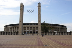 Olympiastadion Berlin (martinpsamuels) Tags: city berlin germany europe stadium capital olympic olympiastadion