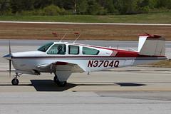 N3074Q - Beechcraft V35 Bonanza (AndrewC75) Tags: atlanta ga private airplane airport general aircraft aviation beechcraft dekalb propeller beech prop bonanza pdk v35 dekalbpeachtree