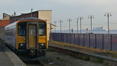 153363 & Pride of Rotterdam (Onwards and Upwards.......) Tags: lincolnshire po cleethorpes humber dmu class153