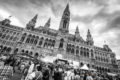 Rathausplatz, Vienna (Explored) (Kit Carruthers) Tags: vienna austria market outdoor fair april rathaus 2016 sonya7ii sonyfe41635zaoss egu2016