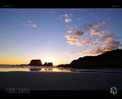 Tidal (tomraven) Tags: sunset sky beach clouds reflections island sand pentax tide tidal ks2 tomraven aravenimage q22016