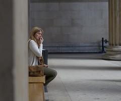 Out of sight (IanAWood) Tags: london westend londonstreetphotography walkingwithmynikon nikondf nikkorafs58mmf14g