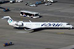 Adria Airways Bombardier Canadair CRJ-900 S5-AAK (c/n 15128) (FNF_VIENNA - Vienna-Aviation.net) Tags: vienna wien airport airways flughafen vie adria bombardier canadair schwechat crj900 loww cr9 crj9 s5aak s5reg