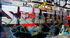 graffiti amsterdam (wojofoto) Tags: holland amsterdam graffiti nederland netherland sel ndsm wolfgangjosten wojofoto selone