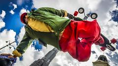 Astronauta en la Puerta del Sol (pepoexpress - A few million thanks!) Tags: madrid sky people wow nikon skate skater nikkor d600 105mmf28 d610 nikon105mmmacro nikond600 105mm28macro madridplazadeespaaproject pepoexpress madridfunstreet madridsmiles madridstreetfashion madridstreetcandid