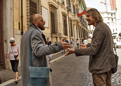 You need hands. (Baz 120) Tags: life street city portrait people italy rome roma contrast europe italia faces candid strangers streetphotography streetportrait olympus streetphoto manual unposed streetfaces omd decisivemoment candidportrait candidphotography m43 streetcandid mft streetphotograph primelens em5 romestreets romepeople candidstreet zonefocusing candidface flashstreetphotography 75mmfisheye romecandid grittystreetphotography