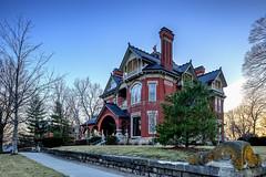 Atchison - Gargoyle House (Jonathan Tasler) Tags: kansas victorianhouse atchison gargoylehouse