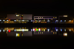 New Brighton Nightlife (David Chennell - DavidC.Photography) Tags: reflection wirral newbrighton merseyside