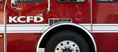 (Bill Baldridge) Tags: city red truck fire missouri kansas