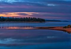Blue Dawn (Philip Kuntz) Tags: morning sunrise reflections dawn lakes idaho bluehour daybreak donnelly lakecascade bluedawn