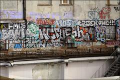 Various... (Alex Ellison) Tags: urban graffiti hotdog boobs railway host sample kc graff veg southlondon tgs tazer trackside fatso dds yrp zonk samp vade opd drear fops famos hdog dfn rakit dowt 10foot saiv kcrush tazerone
