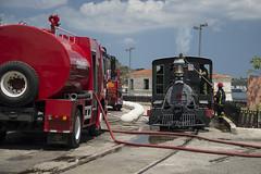 Kuba Havanna Lokomotive in Brand (Ruggero Rdiger) Tags: cuba havanna kuba lahabana 2016 besichtigung citystadt rdigerherbst