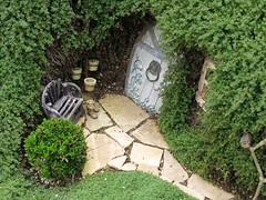 Unexpected Entry (enovember) Tags: door garden miniature secret entrance hobbit unexpected entry