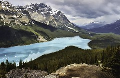 J-500604-0057 (Mireille & Jacky Weiland Photography) Tags: canada montagne nationalpark lac continental alberta banff pays paysages rocheuses peyto colombiebritannique improvementdistrictno9