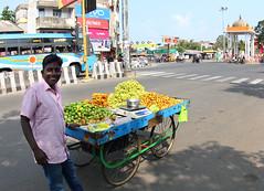 fruit vendor (Ignati) Tags: street india fruits fruit vendor tamilnadu pondicherry pondy puducherry