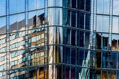1 Blackfriars (Sean Batten) Tags: city england urban reflection building london window glass lines architecture skyscraper nikon unitedkingdom steel curves gb 70200 d800 blackfriarsroad stamfordstreet 1blackfriars