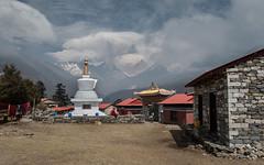Tengboche (Andrei Doubrovski) Tags: nepal trekking monastery choling ebc thyangboche gompa tyangboche dawa tengboche