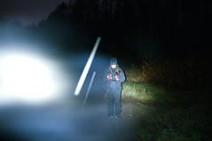 _DSF8701 (Luckybystander) Tags: night trash lowlight flash graffity snowfall flashlght