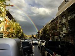 Reflex bus (jc.mendo) Tags: iris urban reflection bus arcoiris reflejo autobus arco reflejos iphone6 jcmendo
