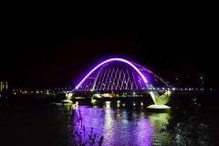Minneapolis <3's Prince! (Liz Nemmers) Tags: bridge music minnesota architecture purple minneapolis prince architectural mississippiriver twincities mn purplerain princerogersnelson lowryavenuebridge 35wbridge exploreminnesota