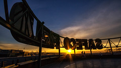 DLEIF OCEFAS (writing with light 2422 [NOT PRO]) Tags: seattle sunset baseball safecofield washingtonstate openingday seattlemariners sigma1020mmlens dleifocefas sonya77 richborder