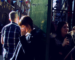 From within (Che-burashka) Tags: street light people london girl spring coventgarden omd em5