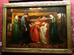 [41296] Liverpool - Walker Art Gallery : Dante's Dream (Budby) Tags: art liverpool painting victorian picture preraphaelite merseyside walkerartgallery