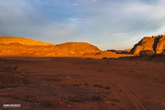 Wadi Rum at Sunset - Jordan - Travel photography (carmine.contrafatto) Tags: travel sunset sky orange clouds trekking landscape photography sand colours desert hiking wadirum traveller adventure jordan capture camels paesaggi giordania hashemite     canon600d