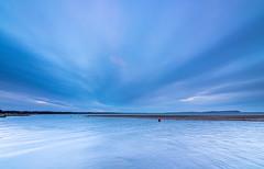 Mudeford Morning (nicklucas2) Tags: blue sea cloud seascape water seaside isleofwight solent needles cloudsstormssunsetssunrises
