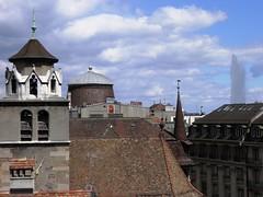 View from Geneva Old Town (Normann) Tags: switzerland geneva jetdeau