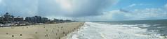 Scheveningen Beach (S.w.C.photography!) Tags: sea sky seascape beach water clouds photography scheveningen thenetherlands sunny denhaag panoramic kurhaus swcphotography
