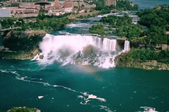 American Falls, Niagara Falls, New York (Joseph Hollick) Tags: newyork niagarafalls waterfall aerial americanfalls