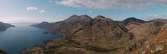 Beinn Sgritheall, Beinn na-h Eaglaise and Beinn nan Caorach from Druim Fada (Mumbles Head) Tags: mountains scotland highlands grahams glenelg munros corbetts lochhourn