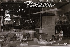 live model in the Fiorucci window display (Meredith Lee) Tags: 1980 59thstreet fiorucci midtownnyc
