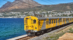 Cape Town Bound Train in Simons Town (jayayess1190) Tags: city railroad urban southafrica capetown commuter emu passenger commuterrail simonstown metrorail passengerrail