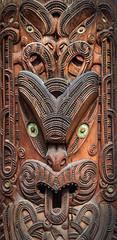 Maori Wood Carving (2) - Rotorua, New Zealand (Lee J2) Tags: new art rotorua zealand northisland maori woodcarving