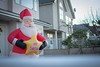 Merry Christmas (camiladellnogues) Tags: santa star nikon balloon plastic infable d7200 nikond7200