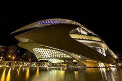 The big shark (El gran tiburn) (Hornisterol) Tags: valencia arquitectura ciudad enero estrellas nocturna artes ciencias 2016 futurista manueljrrega