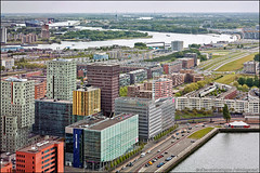 rotterdam (heavenuphere) Tags: city netherlands skyline rotterdam europe view centre nederland gi zuidholland southholland 24105mm