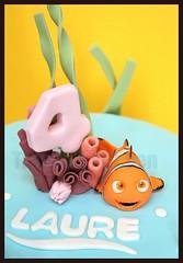 Nemo birthday cake (Tramie's Kitchen) Tags: cake nemo fondant