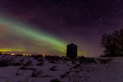 _MG_9143 (poormommy) Tags: trees light tree stars lights star aurora northernlights auroraborealis grainbin ribbonoflight