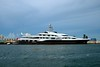 Private yacht ATTESSA IV with a chopper (Marianna Gabrielyan) Tags: ocean water washington chopper florida yacht miami helicopter dennis attessa canonefs1855mmf3556 canon1855mmf3556