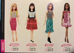 10. Fashionistas 2016 Booklet (Foxy Belle) Tags: toy book doll barbie diversity curvy tall booklet fashionista catalogue mattel petite fashionistas 2016