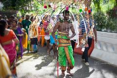 Thaipusam Celebrations (Mermozine) Tags: street travel portrait india man colors religious temple photography singapore asia southeastasia walk religion culture streetphotography celebration editorial devotee hindu thaipusam poeple offerings 500px ifttt