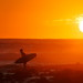 Surfer at Sunrise