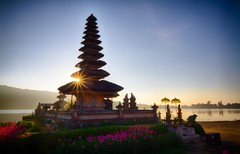 Enlightening  Bali Temple of the Water Gods (JoeyHelms Photography 2.5MViews&10kFollowers) Tags: sunset bali nature architecture photoshop sunrise canon indonesia temple ancient 7d rays hdr blai joeyhelms joeyhelmsphotography