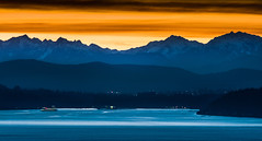 Olympic Mountains (EdBob) Tags: seattle bremerton ferry ferryboat olympicmountains olympicpenninsula sunset salishsea washington washingtonstate washingtonstateferry westernwashington mountains winter outdoors nature edmundlowephotography edmundlowe pugetsound pacificnorthwest dusk night westseattle snowcapped snow america usa allmyphotographsare©copyrightedandallrightsreservednoneofthesephotosmaybereproducedandorusedinanyformofpublicationprintortheinternetwithoutmywrittenpermission wwwedmundlowephotocom